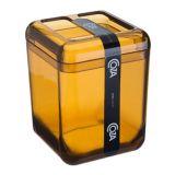 Porta Sabonete Líquido 330Ml Cube Mel