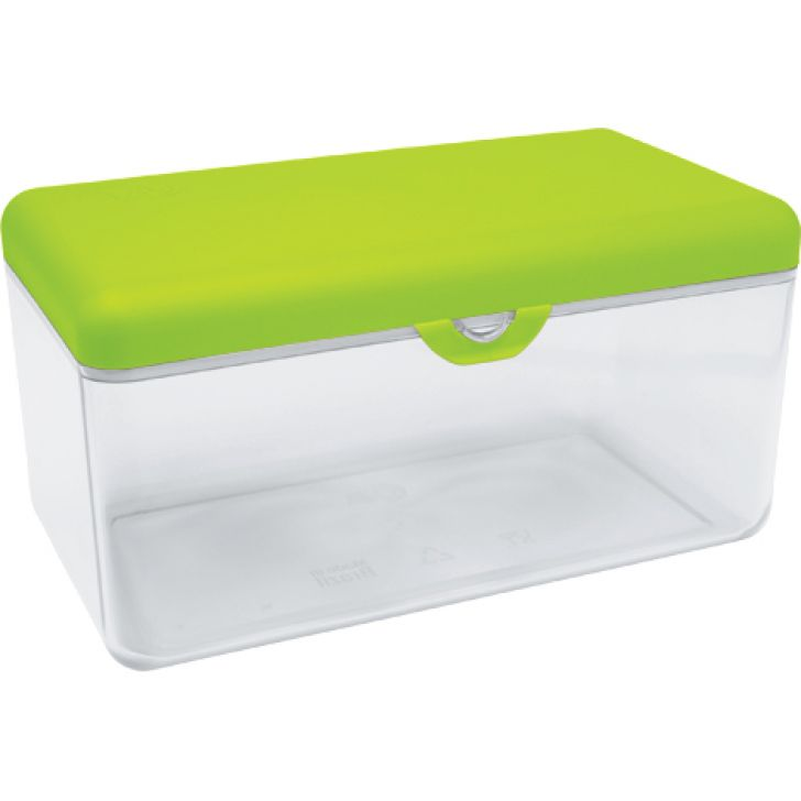 Pote Due para Pão Due Bread Holder Verde 2,6 l
