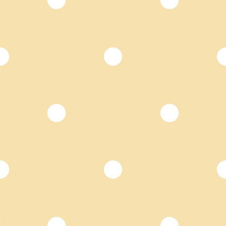 Papel de Parede Coleção Bim Bum Bam Amarelo Branco Poá 2216 DESCONTO DE R$: 60,00 (23,17% OFF) - OFERTA MOBLY