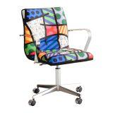 Cadeira Secretária Landscape Colorido