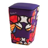 Puff Tamborim  Loves Roxo Daf Britto