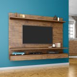 Home Theater Suspenso para TV 100% MDF PA15 Nobre - Dalla Costa