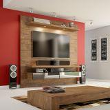 Home Theater Suspenso para TV 100% MDF TB107E Nobre - Dalla Costa
