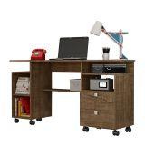 Mesa Para Computador C215 Rr Rústico Fosco - Dalla Costa
