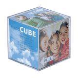 Porto Retrato Cubo P3229 de Acrílico Para 6 Fotos 6x6
