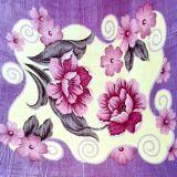 Cobertor Casal Raschel Floral - DeMinas