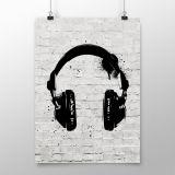 Poster Headphone