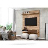 Home Suspenso para Tv Barolo Rústico York/Castanho Bx - Dj Móveis
