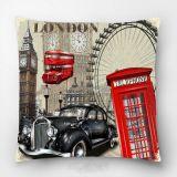 Capa Almofada Digital Estampada-London