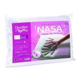 Travesseiro Nasa Viscoelástico com toque de Pétalas 50x70cm - Duoflex