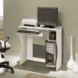Mesa Para Computador Livia Branco Edn Móveis