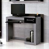 Mesa Para Computador Madona Carv TQ & Preto  Edn Móveis