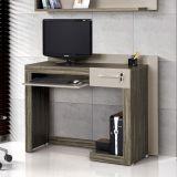 Mesa Para Computador Madona Ebano & Amendoa Edn Móveis