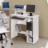 Mesa Para Computador Sophia Branco  Edn Móveis
