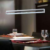 Pendente Cardito em Aluminio Cromado Eglo LED 24W Bivolt