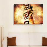 Quadro - Tela em Canvas 100x70cm The Woman Africa
