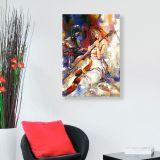 Quadro - Tela em Canvas 100x70cm Violoncelliste