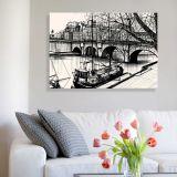 Quadro de Parede - Tela em Canvas 100x70cm Abstrato 2227