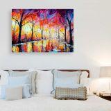 Quadro de Parede - Tela em Canvas 100x70cm Lonely Night Park