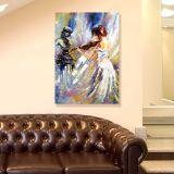 Quadro de Parede - Tela em Canvas 100x70cm Violoniste