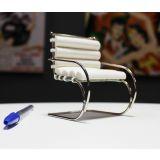 Miniatura Cadeira MR (com braço) - Branco