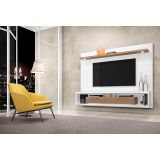 Home Suspenso Decor para TV até 47 Branco Gloss/ Malte - Fiasini