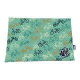 Jogo Americano  Bike 30X43 2 Peças Azul Flivo
