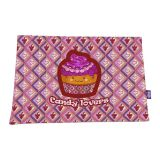 Jogo Americano  Candy Lovers Uva 30X43 2 Peças Roxo Flivo