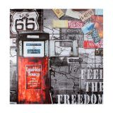 Quadro Feel The Freedom Fullway 100X100