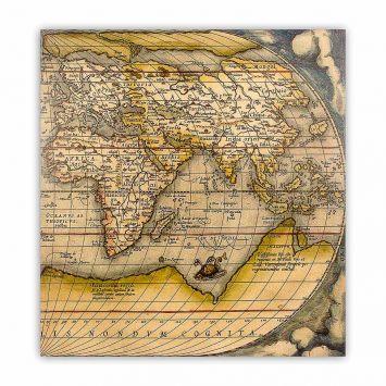Tela Impressa Mapa Oriente Fullway 100x100x4 Fullway 12478