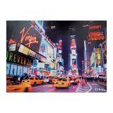 Tela Leds Virgin Taxis Fullway Colorido 100X140X4Cm