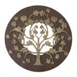 Escultura Decorativa  Mandala Ceramica 92406 Fusi