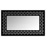 Espelho De Parede  12880P Preto 70x110 Fusi