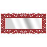 Espelho De Parede  15177V Vermelho 70x158 Fusi