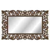 Espelho De Parede  15179I Marrom 70x158 Fusi