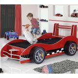 Cama Infantil Carro Flash Plus Vermelho Gelius Móveis