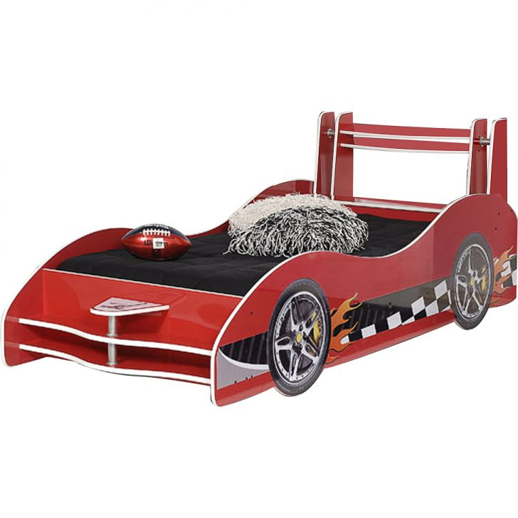 Cama infantil carro flash plus vermelho gelius m veis - Cama coche infantil ...