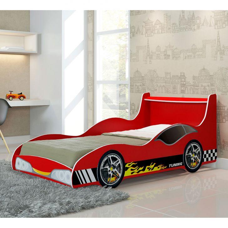 Cama infantil carro tuning vermelho gelius - Cama coche infantil ...