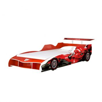 Cama Infantil F1 90 cm Vermelha Gelius Móveis F1