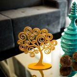 Árvore Decorativa dos Sonhos Tamanho M Amarelo - Geton Concept