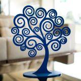Árvore Decorativa dos Sonhos Tamanho M Azul Anil - Geton Concept