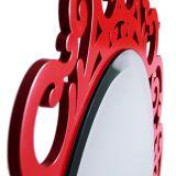 Espelho Romântico com Bisotê e Laca Grande