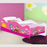 Cama Carro Infantil Patati-Patata Rosa