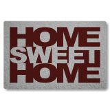 Tapete Home Sweet Home - Fundo Prata