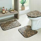 Jogo de Banheiro Safari 03 Peças - Leopardo