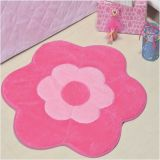 Tapete Big Margarida Dupla 1,25m x 1,25m - Pink