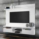 Painéis para TV Livin 1.8 Branco Alto Brilho HB Móveis