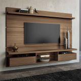 Painéis para TV Livin 2.2 Macchiato Texture Alto Relevo HB Móveis