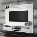 Painel para TV Livin 1.8 Branco Alto Brilho HB Móveis