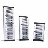 Unidade Externa Porteiro Eletrônico Coletivo Para 14 Pontos HDL